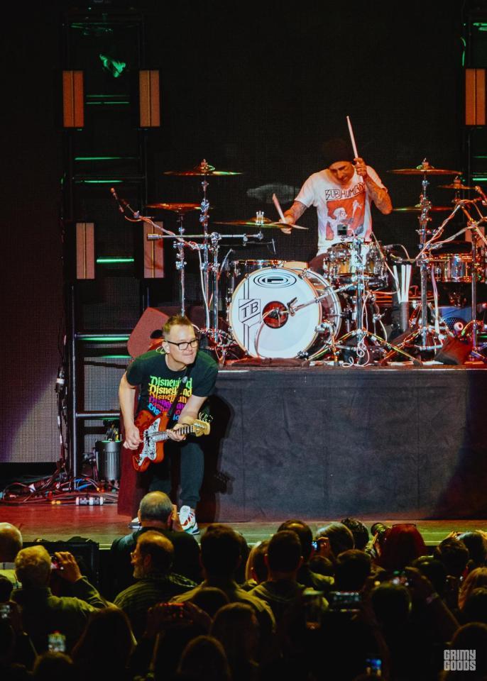 Blink 182 in concert