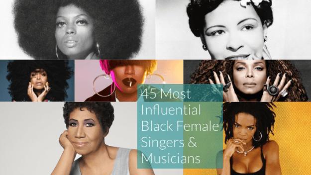 influential iconic black female singers musicians
