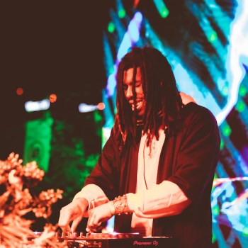 Flying Lotus at Glass House Fest
