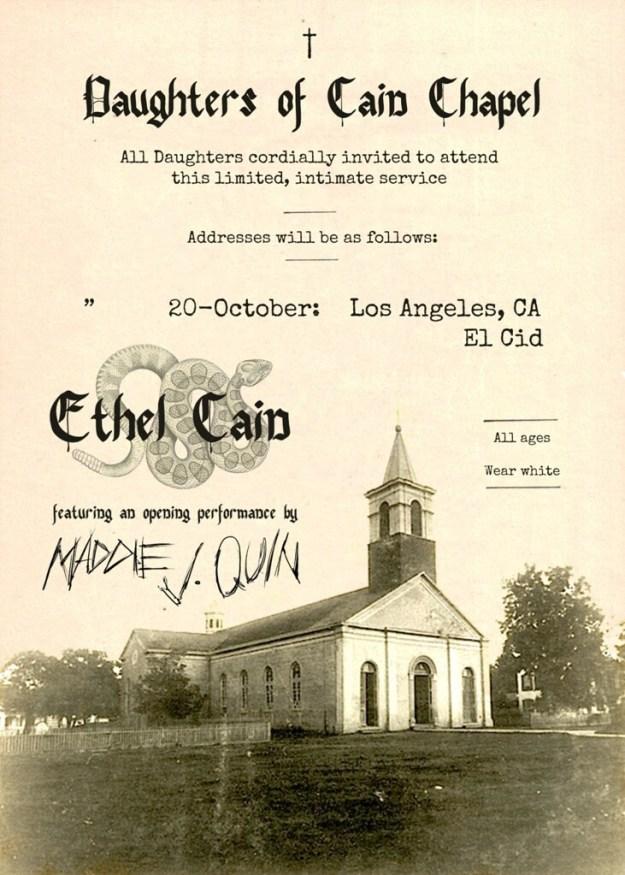 Ethel Cain at El Cid LA