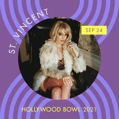 St. Vincent hollywood bowl