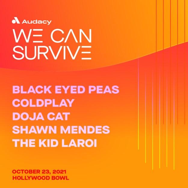 We Can Survive concert