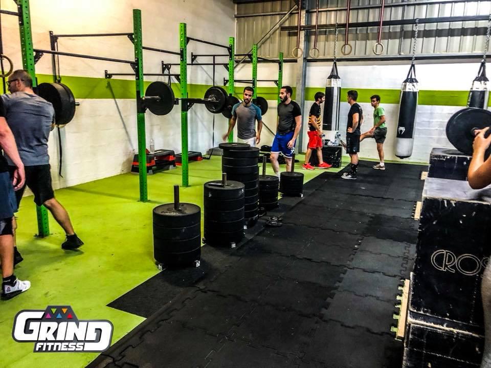 cross training grind fitness