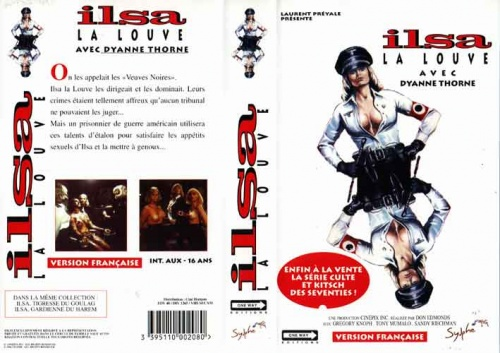 Ilsa She Wolf of The SSPress Kit The Grindhouse