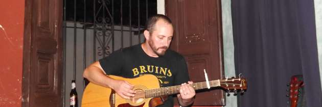 First Gig in Granada at Imagine Restaurant and Bar