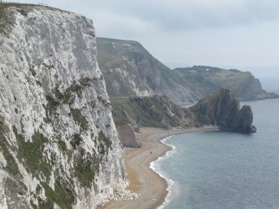 Looking back towards Durdle Door