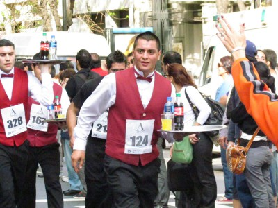 Buenos Aires Waiter's Race 2011