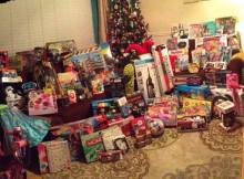 Angel Tree Gifts 2015