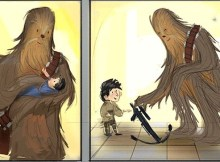 Chewbacca and Ren