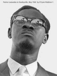 Patrice Lumumba en mai 1960 à Stanleyville