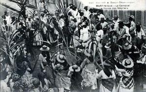 1900, la ronde des négriers au carnaval de Fort de France