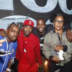 Daz Dillinger, Ray Jay, Jackie Long and Lady of Rage