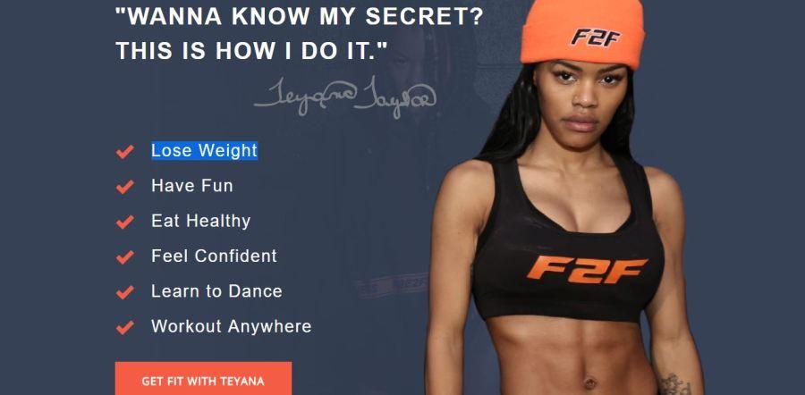 b0fd55630f8 Teyana Taylor Unveils New Fade2Fit Workout Program