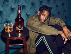 Courvoisier ASAP Rocky High Ball and Bottle