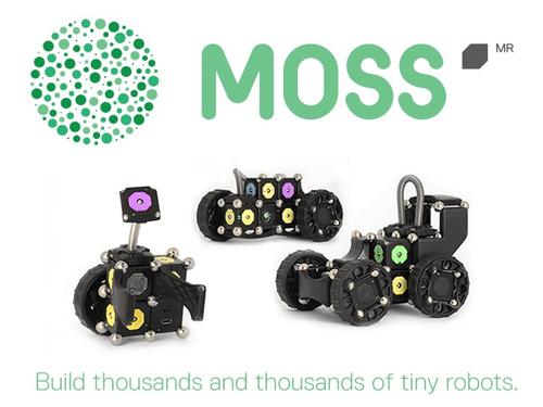 Moss, the tiny robots.