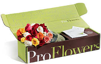 This is how ProFlowers delivers.