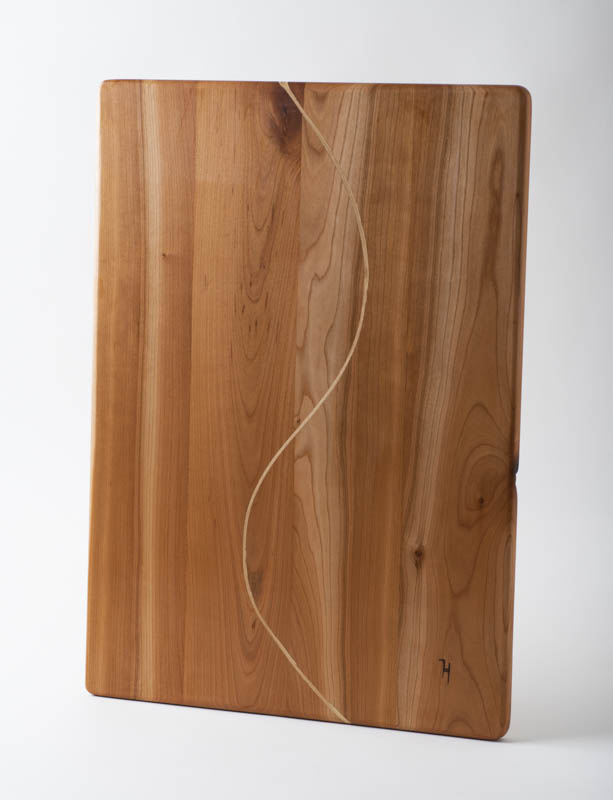 Charcuterie board, in cherry with birch S
