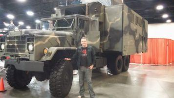 Zombie Apocalypse Survival Truck (Army Surplus)