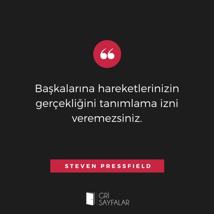 steven pressfield söz 1