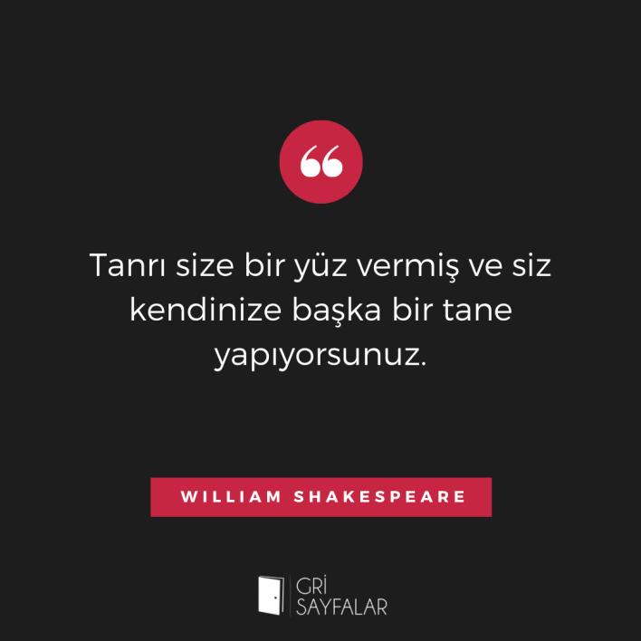 william shakespeare söz 1