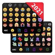 emoji keyboard cute emoticons, gif, stickers emoji uygulaması