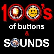 100's of buttons and sounds 2 android ses efekti uygulaması