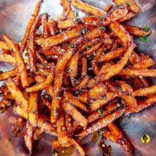 Hot Honey and Sage Fries