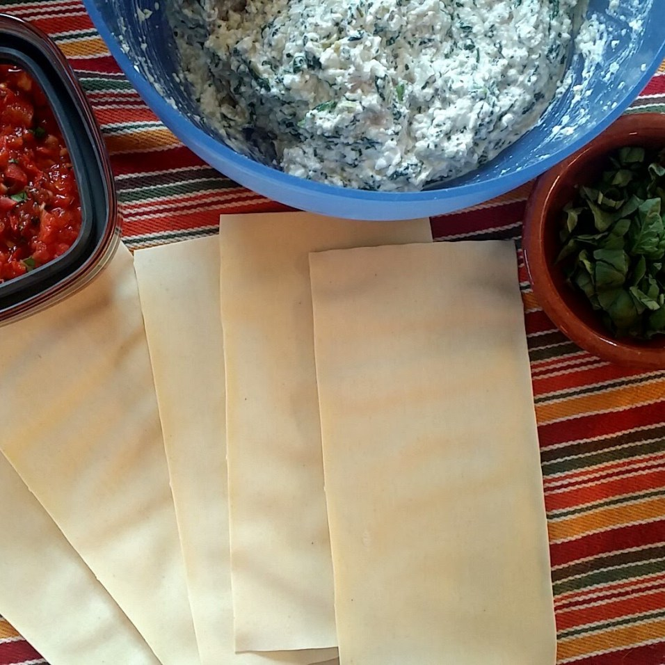 Artichoke + Spinach Lasagna