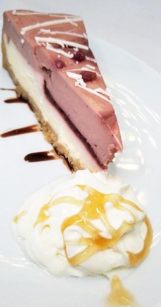 Pomegranate Parfait Cheesecake