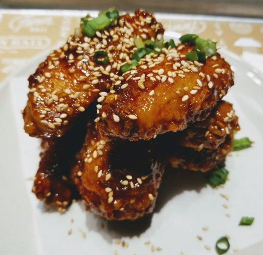 Korean Fried Wings - Yong