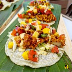 Cornflake Crusted Chicken Tacos