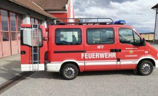Opel Movano L1H1 2,5 DTI 2,8t Kleinbus Feuerwehrfahrzeug