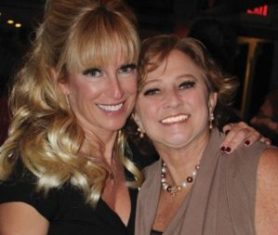 Susie with her best friend and vice president of the Coalition, Stacy Quarty
