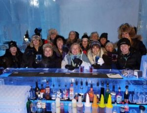 My Arctic Adventure Bucket List Tour: ICEBAR and ICEHOTEL, Mary Gibbons