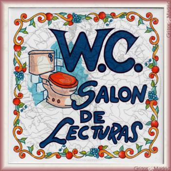 WC SALÓN DE LECTURAS