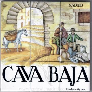 Azulejo Cava Baja