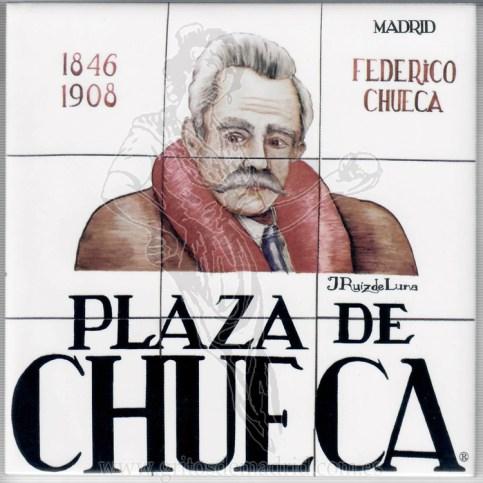 Azulejo Plaza de Chueca
