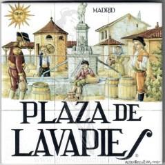 Azulejo Plaza de Lavapiés