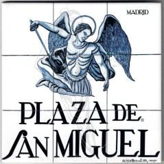 Azulejo Plaza de San Miguel