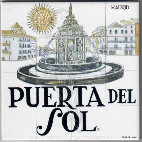 Azulejo Puerta del Sol