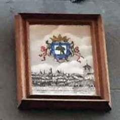 Placa Tejados de Madrid y Escudo