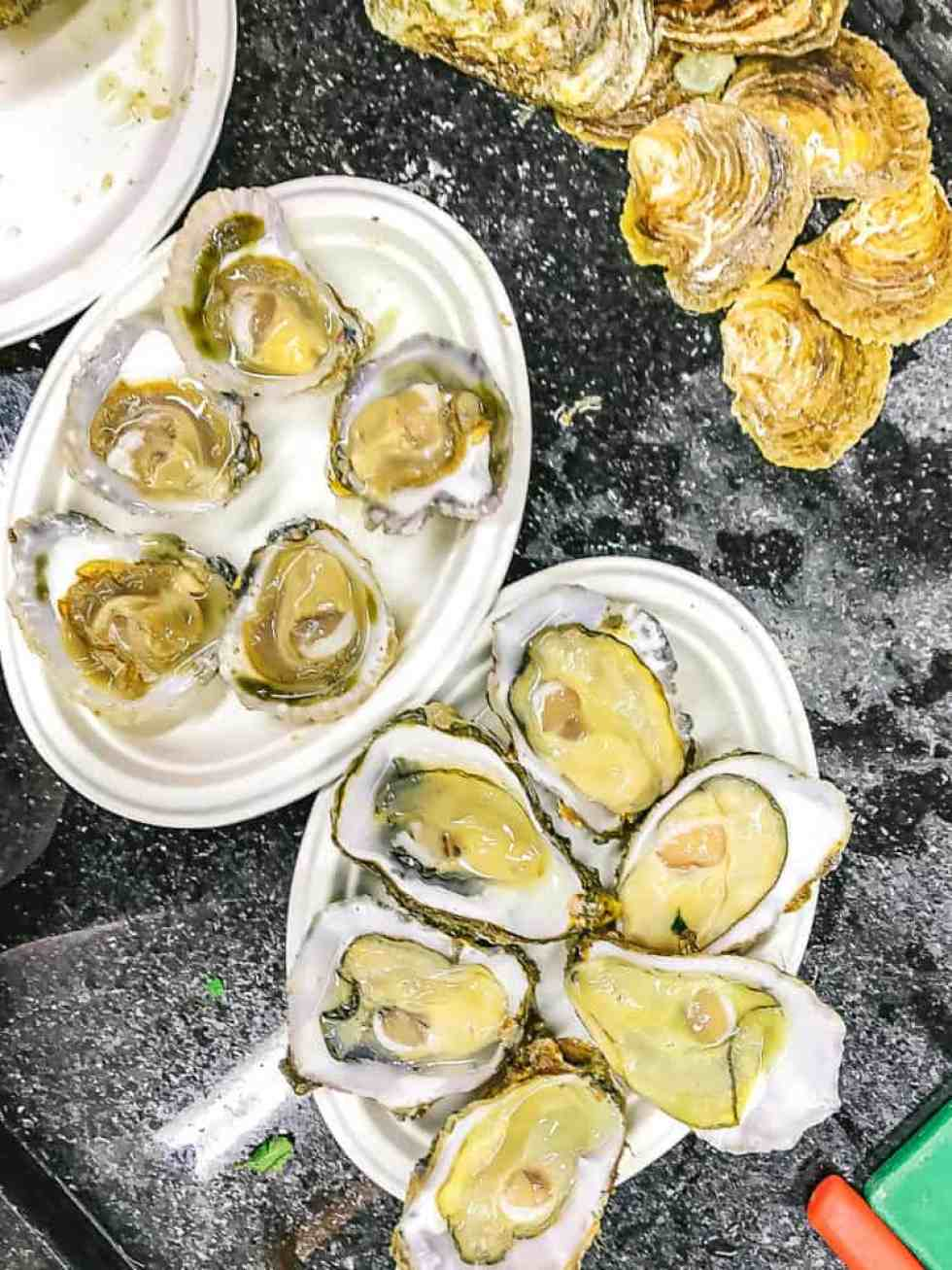 borough market's top five eats - richard haward oysters