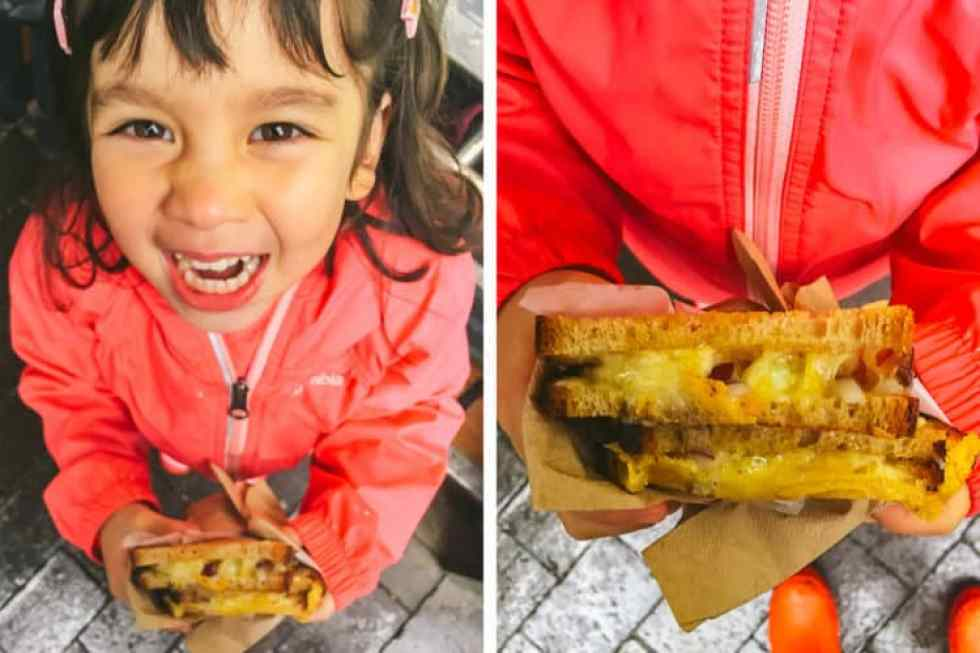 borough market's top five eats - kappacasein dairy toasted grill cheese
