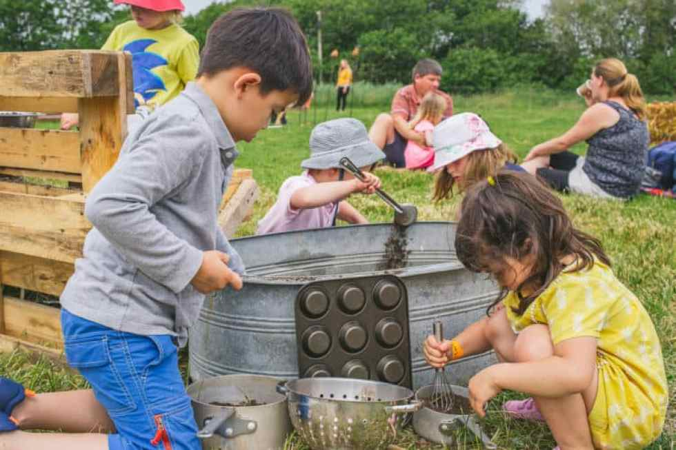 Family-friendly River Cottage is an ideal destination for food-loving parents and kids alike