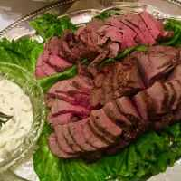 Beef Tenderloin with Gorgonzola Sauce
