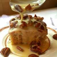 Southern Pecan Praline Cake