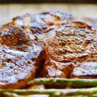 Easy Grilled Bone-In Pork Chops and Quick Marinade