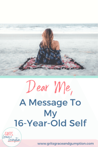 Have you ever thought about what you'd say to yourself if you could go back in time to when you were 16? What advice would you give yourself?