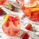 Homemade Berry Rosé Sangria