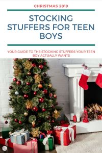 Looking for stocking stuffers for teen boys that they'll actually want? Here are 21+ ideas that are teen-boy approved for Christmas 2019!